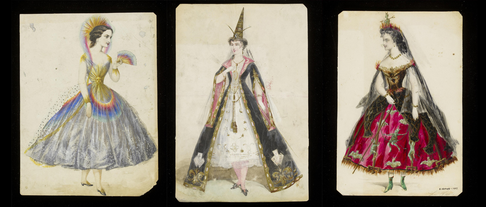 Fancy dress originale v and a