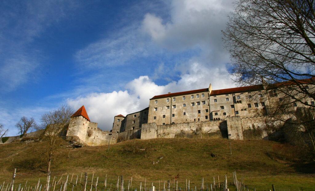Burghausen Burg Vortrag Magdalena März